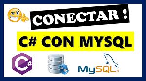 conectar c# con mysql