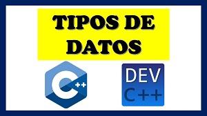 tipos de datos en c++